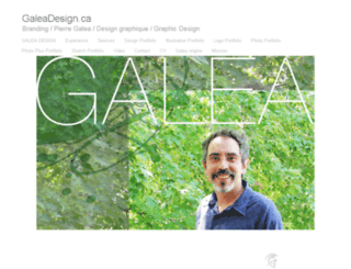 galeadesign.ca screenshot