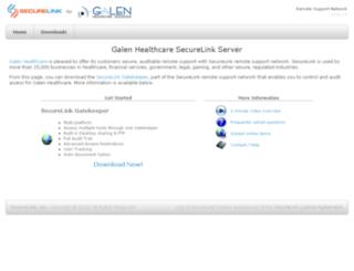 galen.securelink.com screenshot