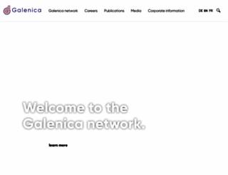 galenica.com screenshot