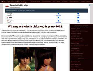 galeria-fryzur2013.qever.com screenshot