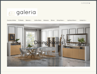 galeria.co.za screenshot