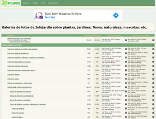 galeria.infojardin.com screenshot