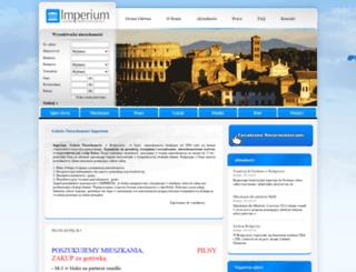 galeriaimperium.pl screenshot