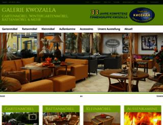 galerie-kwozalla.de screenshot