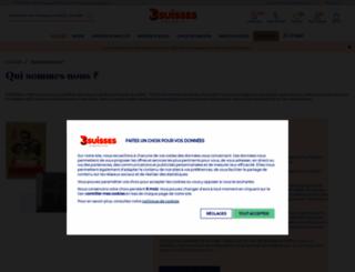 galerie.3suisses.fr screenshot