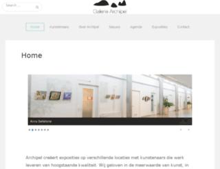 galeriearchipel.nl screenshot