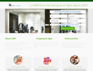 galeriedelamarque.com screenshot