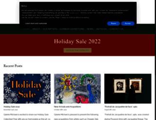 galeriemichael.com screenshot