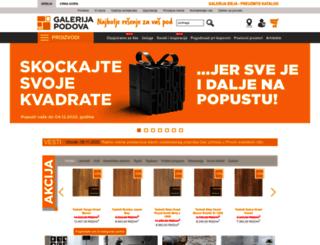 galerijapodova.com screenshot