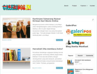 galeripos.in screenshot