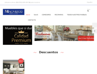 galerymuebles.com.mx screenshot