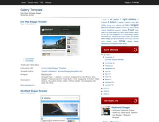 galerytemplate.blogspot.com screenshot