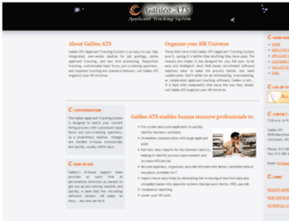 galileo-ats.com screenshot