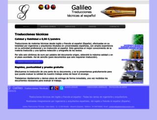 galileotraducciones.com screenshot