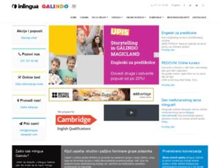 galindo.co.rs screenshot
