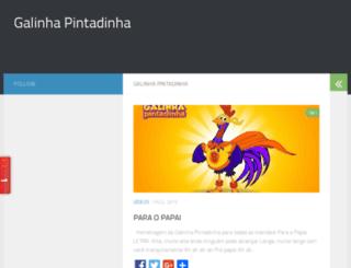 galinhaspintadinha.com screenshot