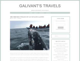 galivantstravels.com screenshot