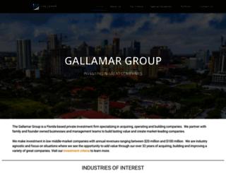 gallamargroup.com screenshot