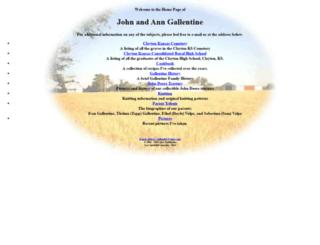 gallentine.org screenshot