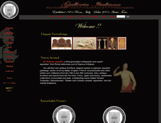 galleriaitaliana.com screenshot