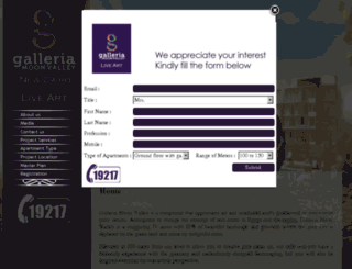 galleriamv.com screenshot
