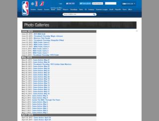 galleries.nba.com screenshot