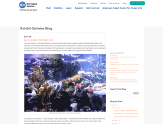 galleries.neaq.org screenshot