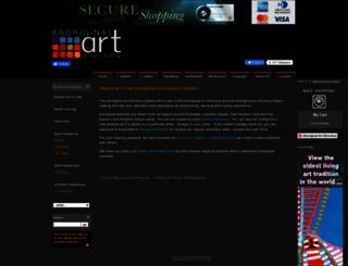 gallery.aboriginalartdirectory.com screenshot
