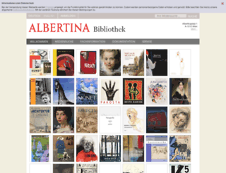 gallery.albertina.at screenshot