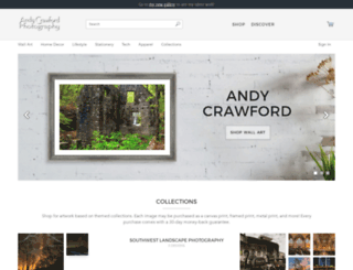 gallery.andycrawford.photography screenshot