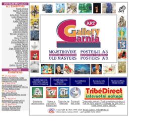 gallery.carnia.tribe.si screenshot