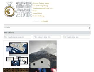 gallery.designpreis.de screenshot