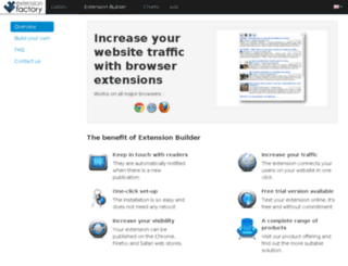 gallery.extensionfactory.com screenshot