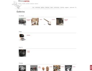 gallery.mcneel.com screenshot