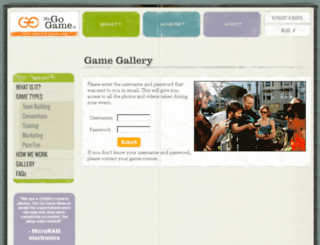gallery.thegogame.com screenshot