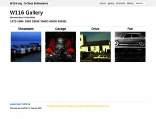 gallery.w116.org screenshot