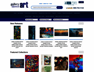 gallerydirectart.com screenshot