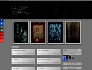 galleryjournal.blogspot.com screenshot