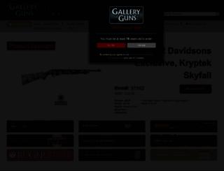 galleryofguns.com screenshot