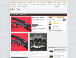 gallerypisau.blogspot.fr screenshot
