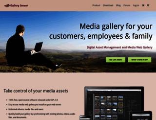 galleryserverpro.com screenshot