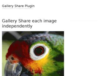 galleryshareplugin.com screenshot