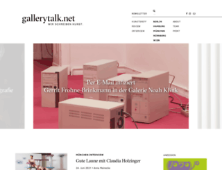 gallerytalk.net screenshot