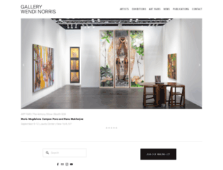 gallerywendinorris.com screenshot