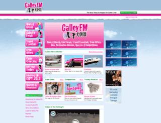galleyfm.com screenshot