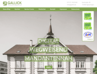 gallick.de screenshot