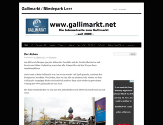 gallimarkt.net screenshot