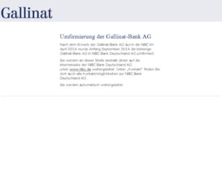 gallinat.de screenshot
