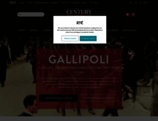 gallipoli.rte.ie screenshot