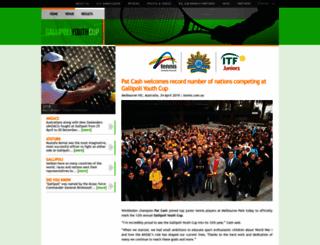 gallipoliyouthcup.com screenshot